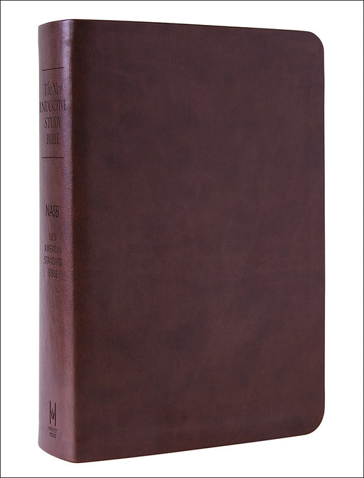 NASB-New Inductive Study Bible-Brown Milano Softone