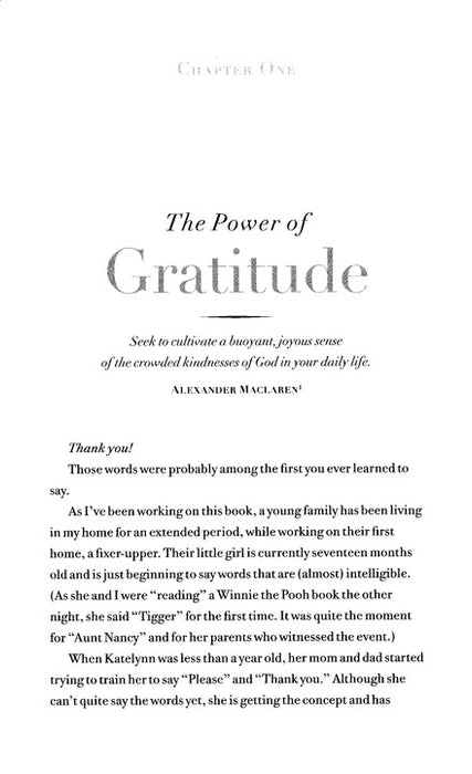 Choosing Gratitude - Nancy Leigh Demoss