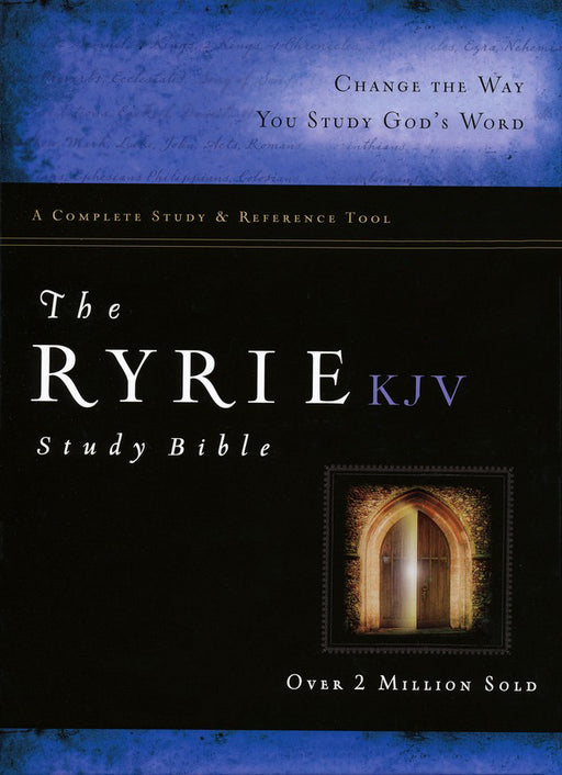 Bible - KJV - Ryrie Study - Indexed