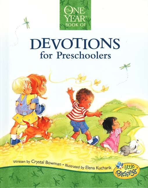 One Year Devotions for Preschoolers	-Crystal Bowman-Hard Cover