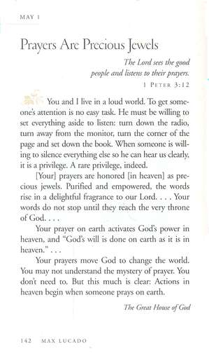 Grace for the Moment--Devotional By: Max Lucado