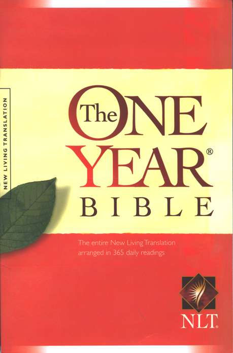 NLT One Year Bible- Soft Cover