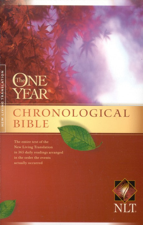 NLT One Year Chronological Bible