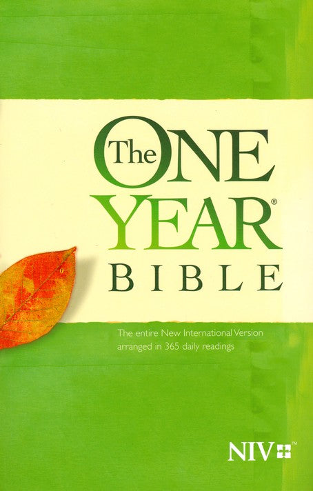 NIV One Year Bible-Soft Cover