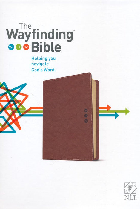 Wayfinding Bible-Tan Leatherflex