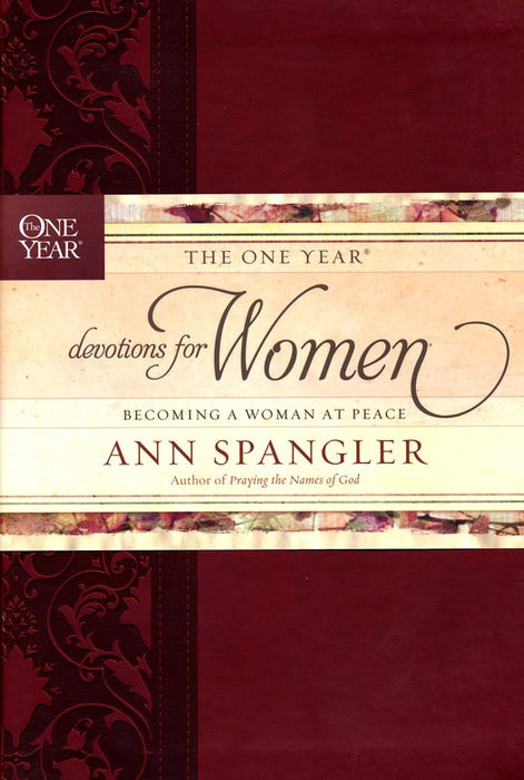 One Year Devotions for Women-Ann Spangler	Red-Leatherflex
