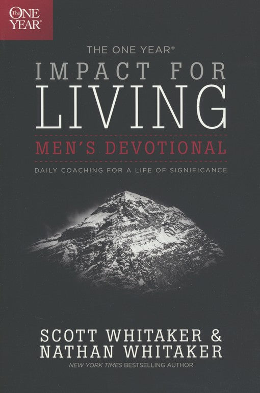 One Year Impact for Living Men's Devotional-Nathan Whitaker-Trade Paper