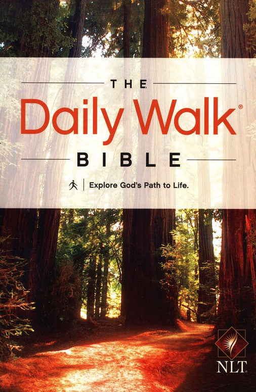NLT Daily Walk Bible-Soft Cover