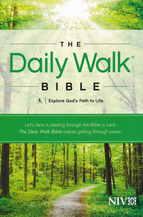 NIV Daily Walk Bible-Softcover