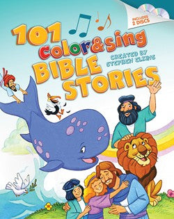 101 Color & Sing Bible Stories-Stephen Elkins