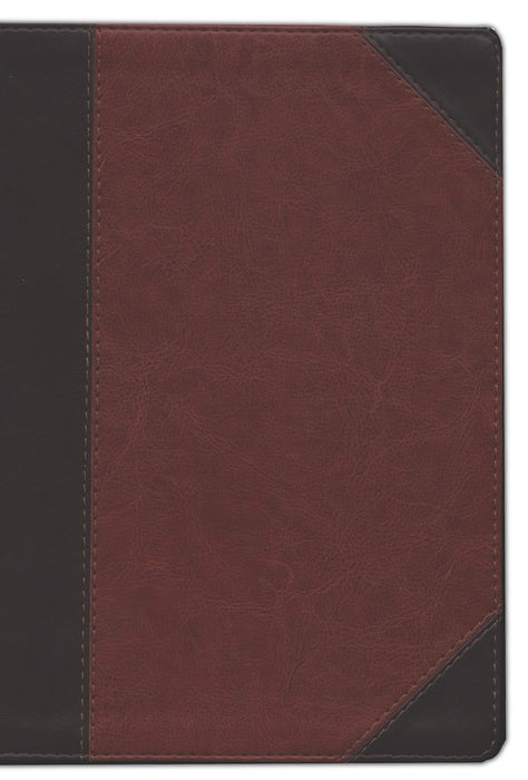 ESV-Study Bible-Brown Portfolio-Indexed