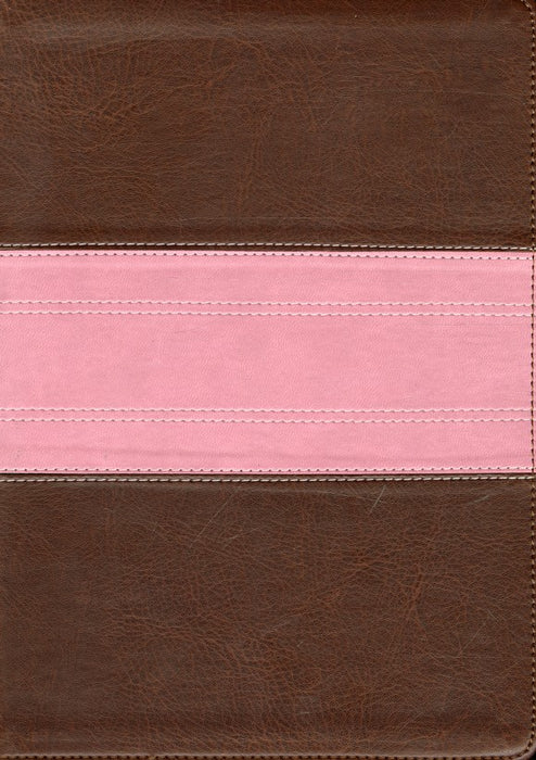 ESV-Study Bible-Brown and Pink