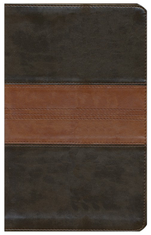 ESV Thinline Bible-Forest and Tan