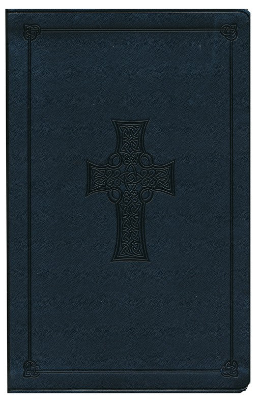 ESV Value Thinline Bible-Gray with Celtic Cross