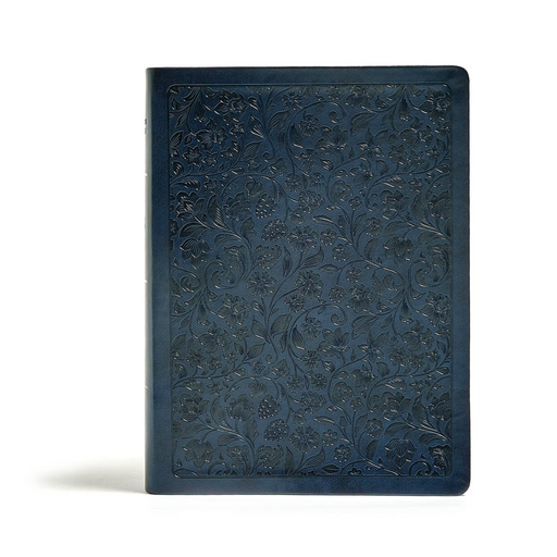 CSB Life Connections Study Bible-Navy LeatherTouch