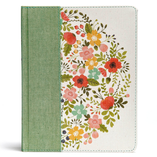 CSB Notetaking Bible-Hardcover-Sage Cloth Over Board