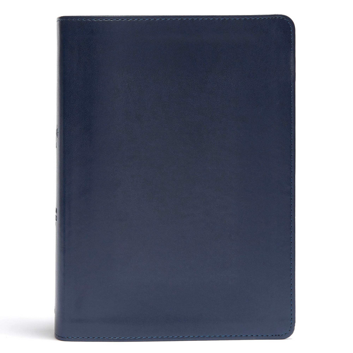 CSB She Reads Truth Bible-Navy LeatherTouch