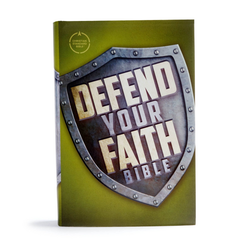 CSB Defend Your Faith Bible-Hardcover