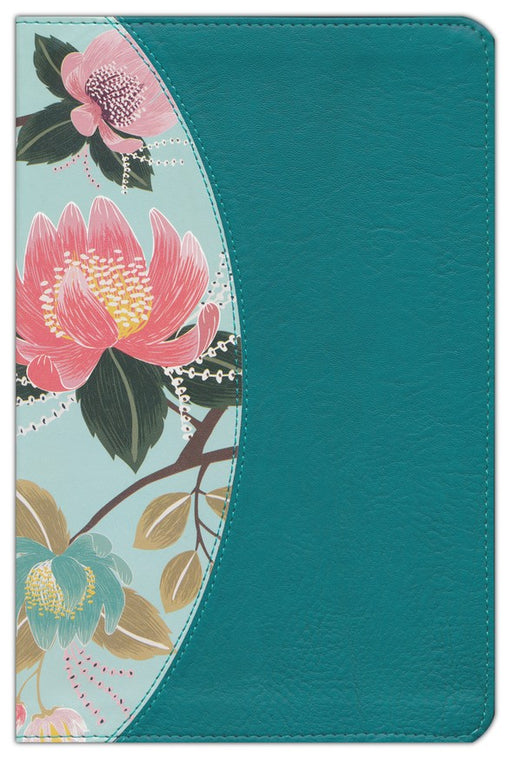 CSB Study Bible for Women-Teal Floral