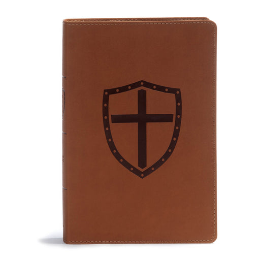 CSB Defend Your Faith Bible-Walnut Leather Touch