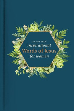 The One Year Inspirational Words of Jesus for Women - Robin Merrill