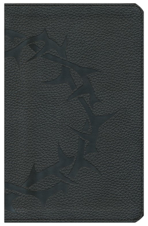 ESV Thinline Bible	-Black with Embossed Thorn Crown