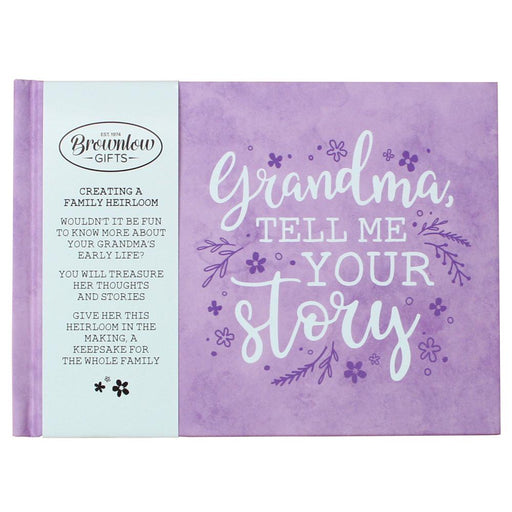 Grandma, Tell Me Your Story Heirloom Memory Book