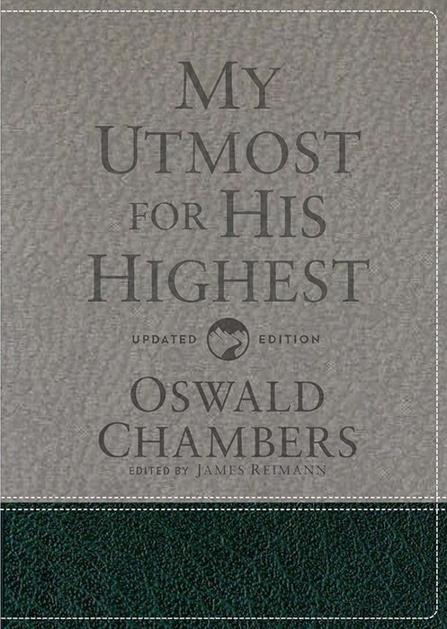 My Utmost For His Highest-Updated Edition