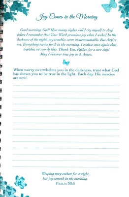 My Prayer Journal Mornings With God: Mornings with God