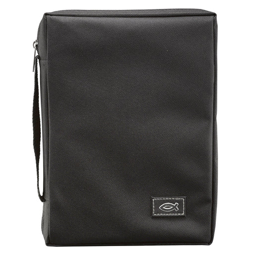 Bible Cover-Canvas Value- Black