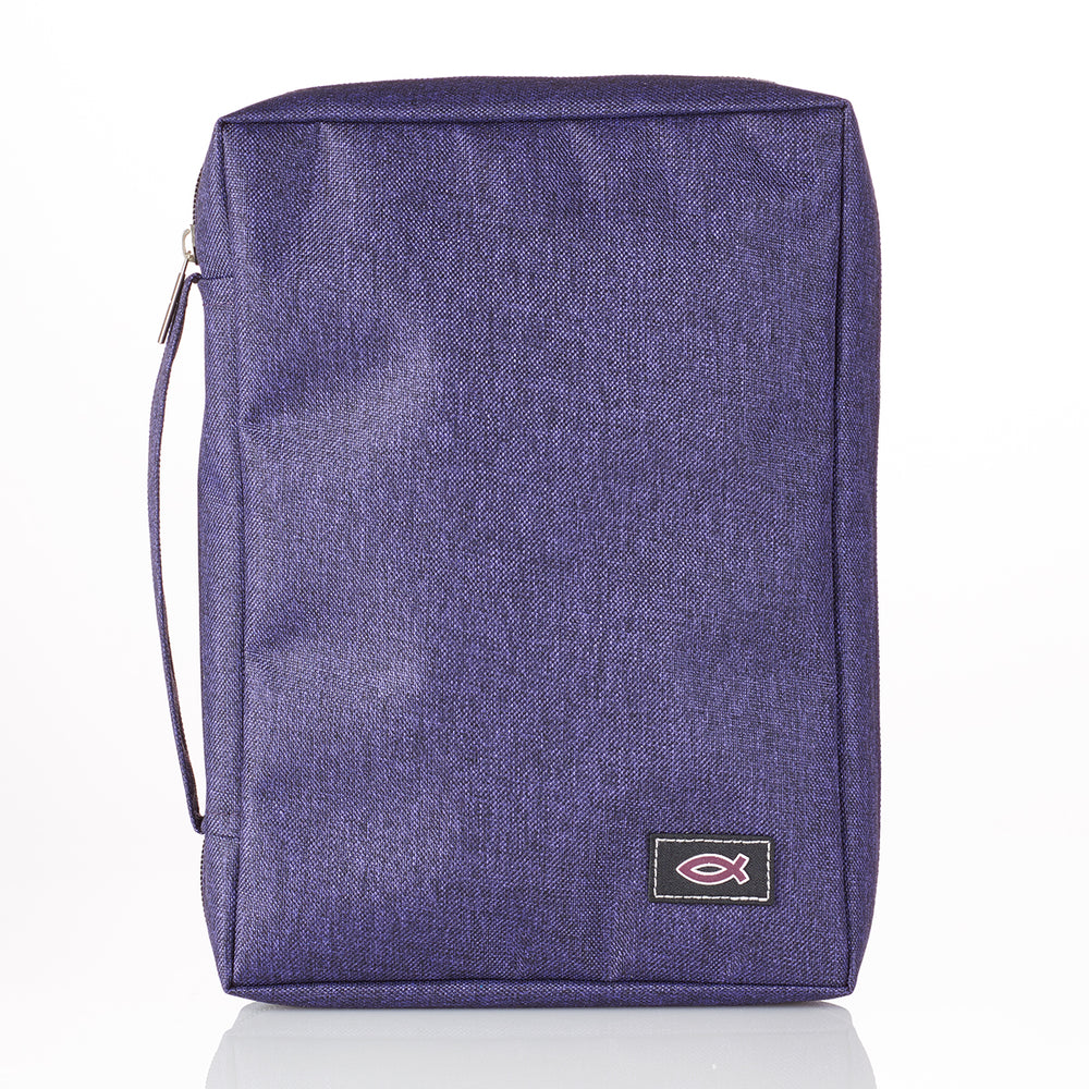 Bible Cover-Canvas Value- Purple