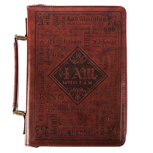 Bible Cover-Lux Leather- Names Of God