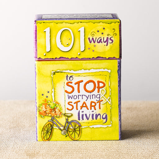 Box of Blessings-Stop Worrying