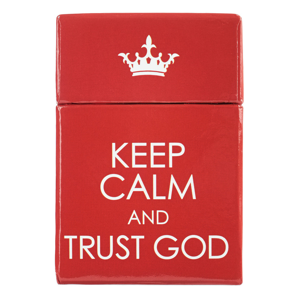 Box of Blessings- Keep Calm & Trust God