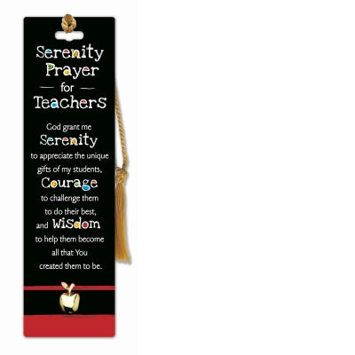 Bookmark/Lapel Pin-Serenity Prayer for Teachers