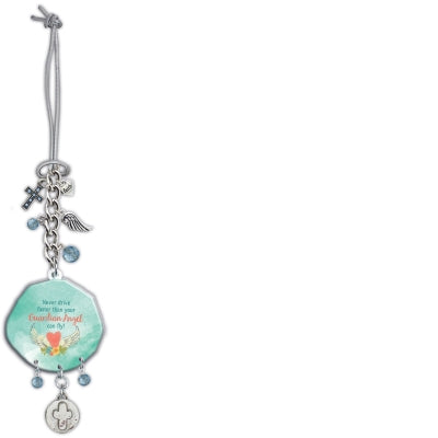 Car Charm-Guardian Angel with Charms