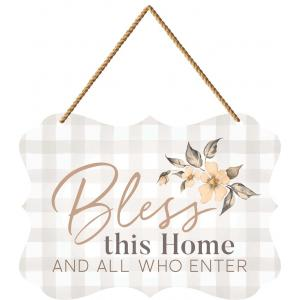 Plaque-Bless This Home And All Who Enter