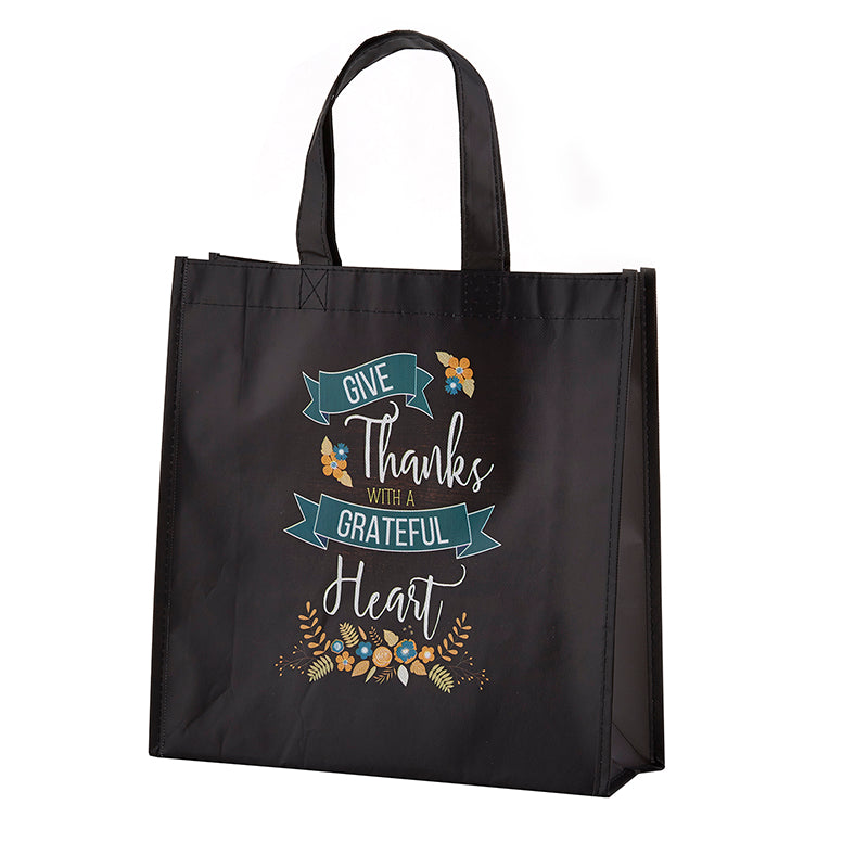 Tote-Grateful Heart-Laminated