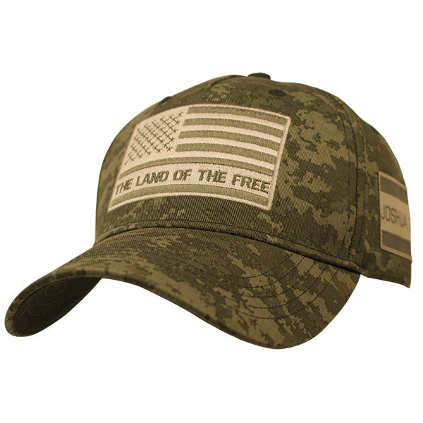 Cap-Land Of The Free-Camo