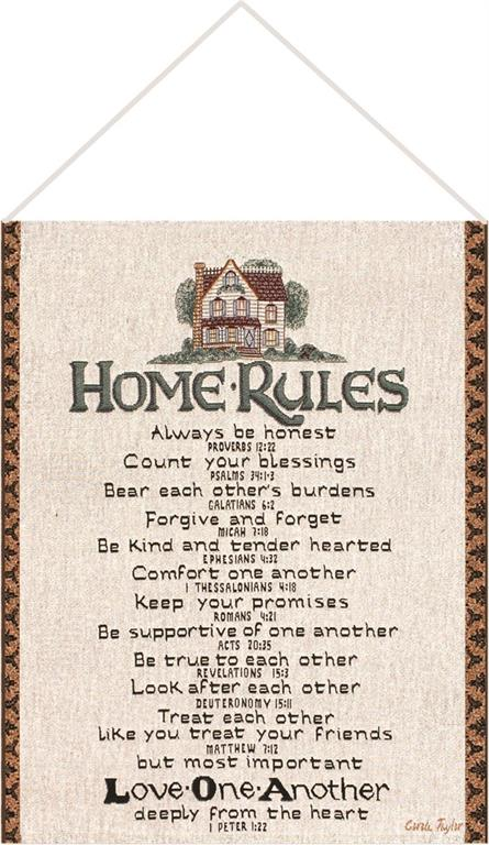 Bannerette-Home Rules