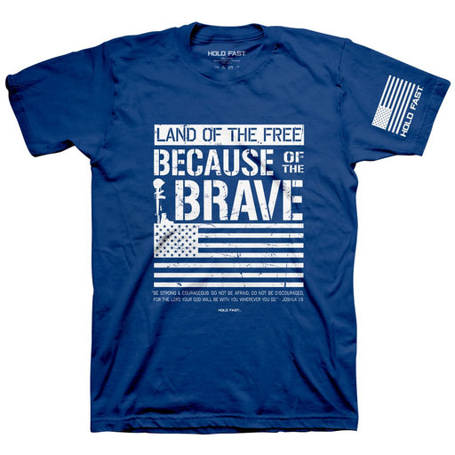 T-shirt-Because of the Brave