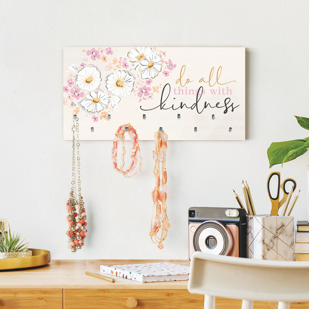 Jewelry Organizer-Do All Things With Kindness