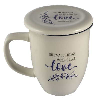 Mug With Coaster-Do Small Things/Great Love