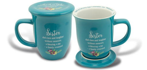 Mug with Coaster-Sister-Blessing