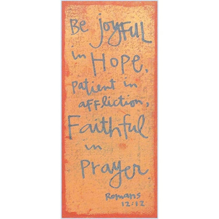 Canvas-Be Joyful In Hope