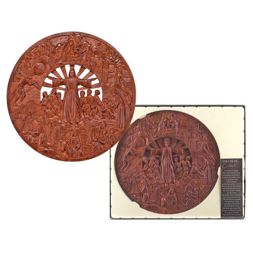 Plaque-Life Of Christ-Circle