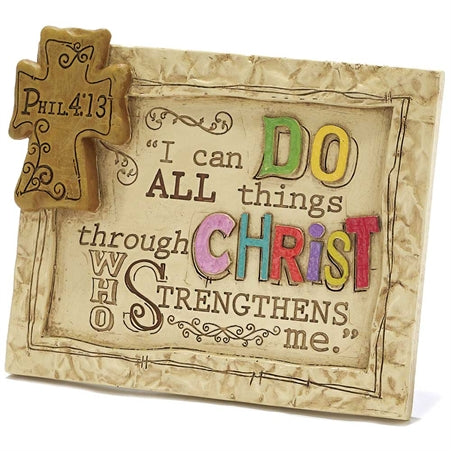 Plaque-I Can Do All Things-Philippians 4:13
