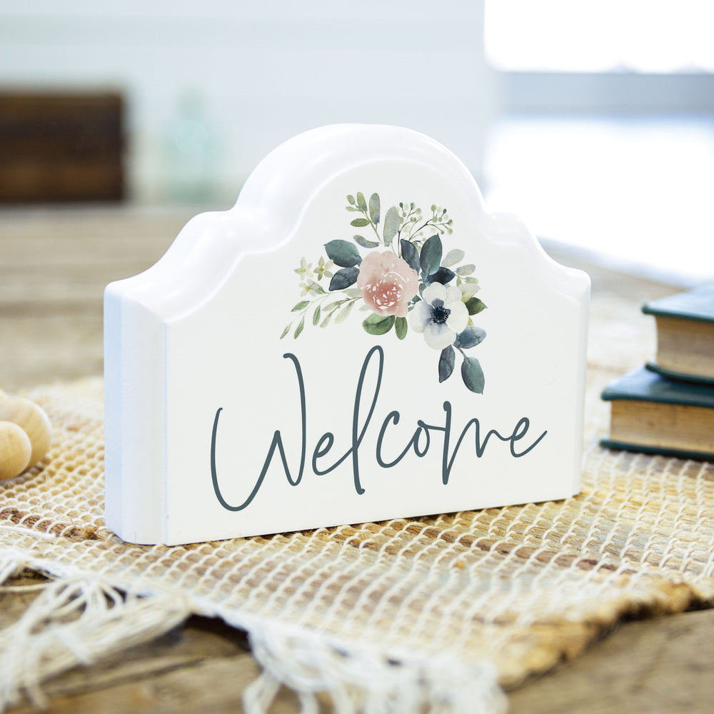 Plaque-Welcome