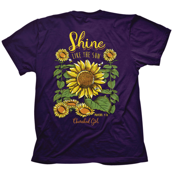 T-Shirt-Shine Sunflower