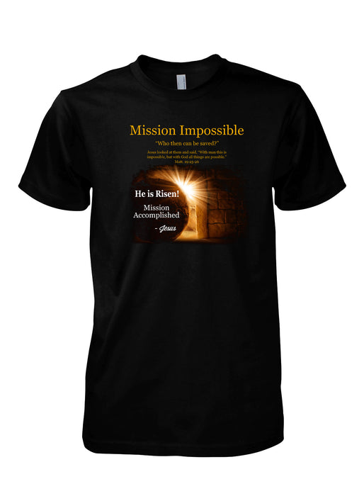 T-Shirt-Mission Impossible-Black